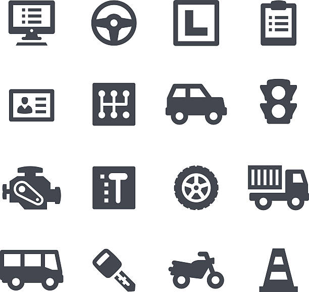 Royalty Free Automatic Gear Shift Clip Art, Vector Images
