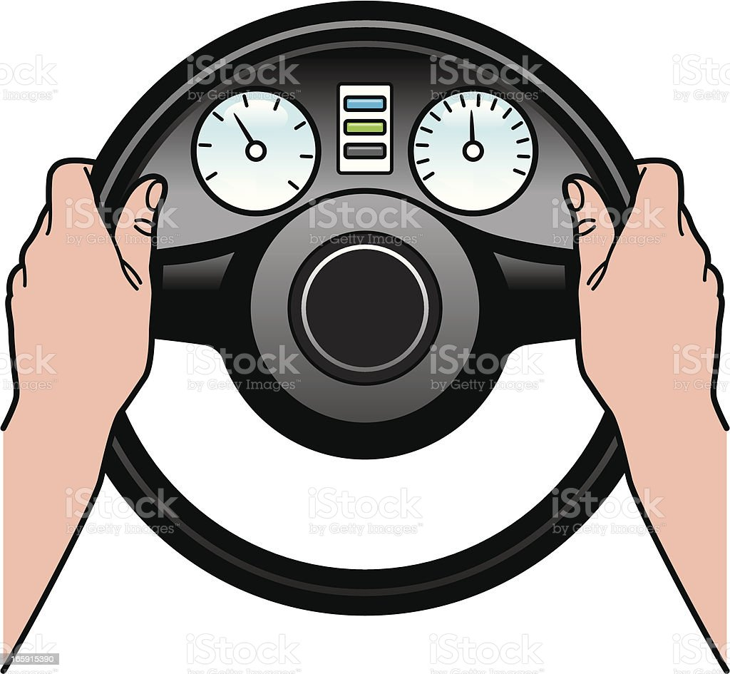 Driving royalty-free driving stock vector art & more images of car