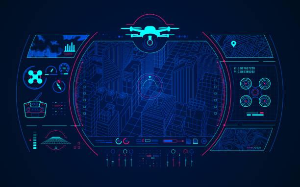 ilustrações de stock, clip art, desenhos animados e ícones de drone control - drone