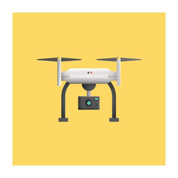 ilustrações de stock, clip art, desenhos animados e ícones de drone icon - drone