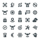 Drone, copter, propeller, quadcopter, icon, icons, flying, air vehicle