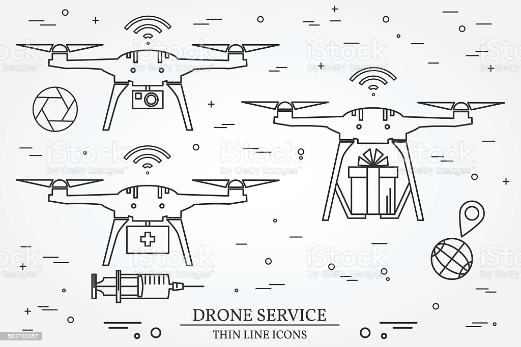 Drone service. Drone medical, delivery, Video and Photography...