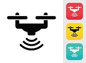 Drone Wireless Icon