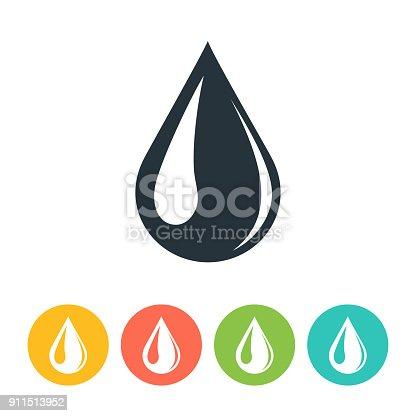 istock Drop Icon 911513952