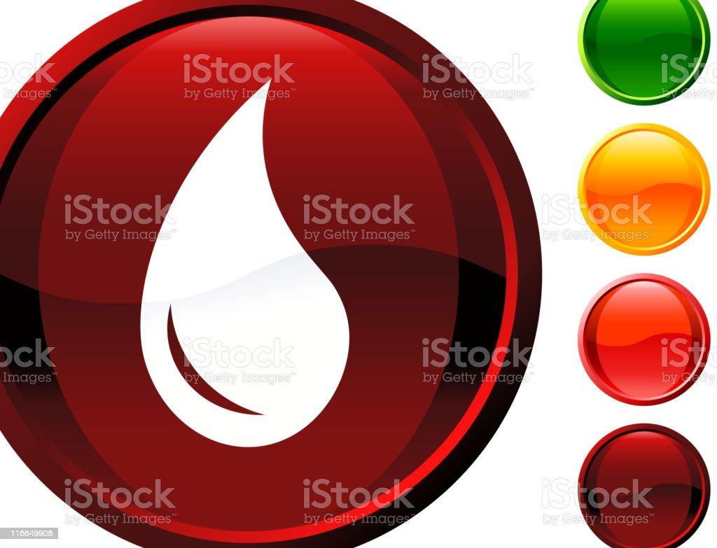 drop of blood internet royalty free vector art vector art illustration