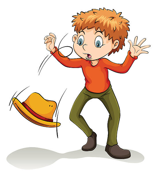 Royalty Free Boy Falling Clip Art, Vector Images ...