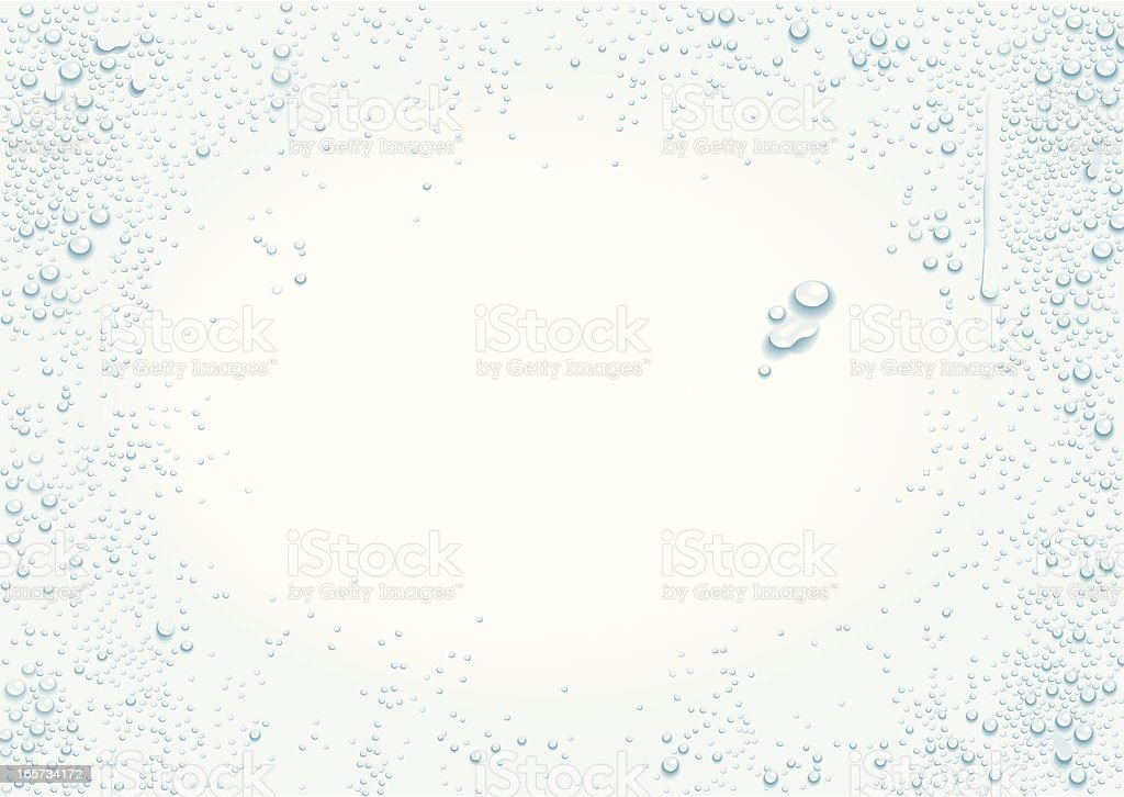 Drops background vector art illustration