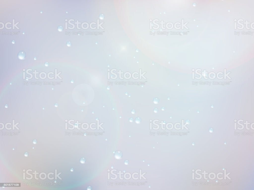 Drops of rain on the window. EPS10 royalty-free stock vector art