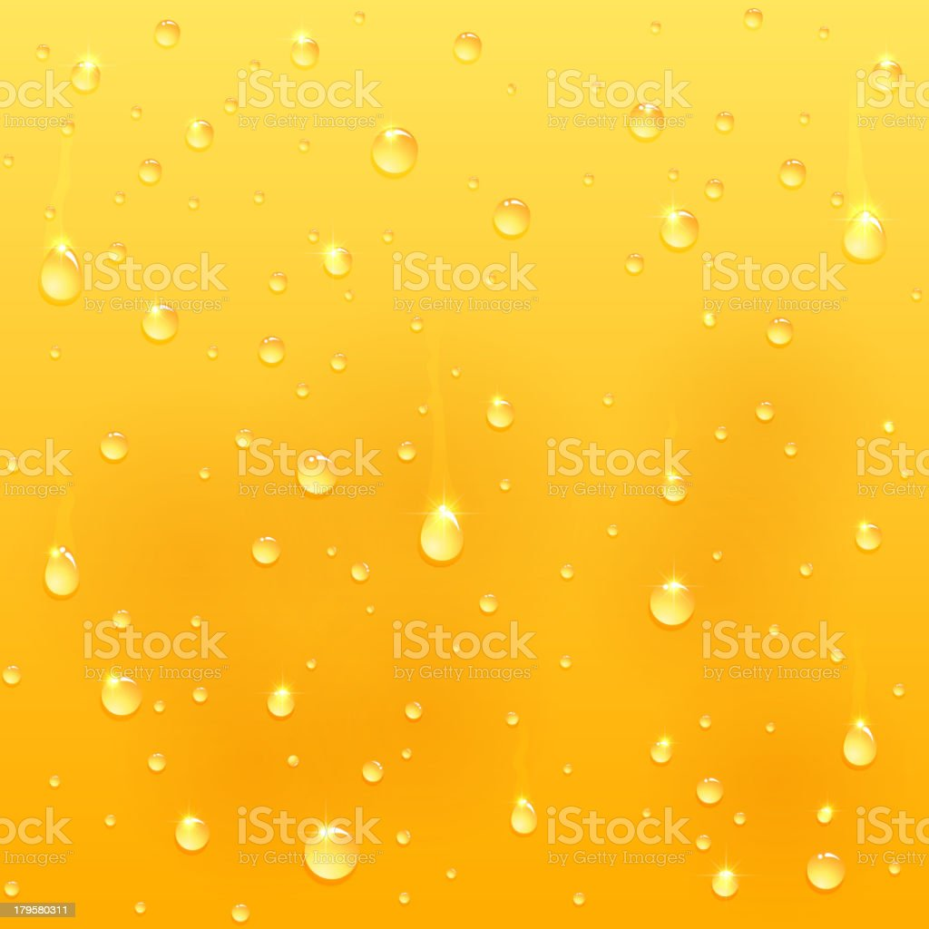 Drops on glass royalty-free stock vector art