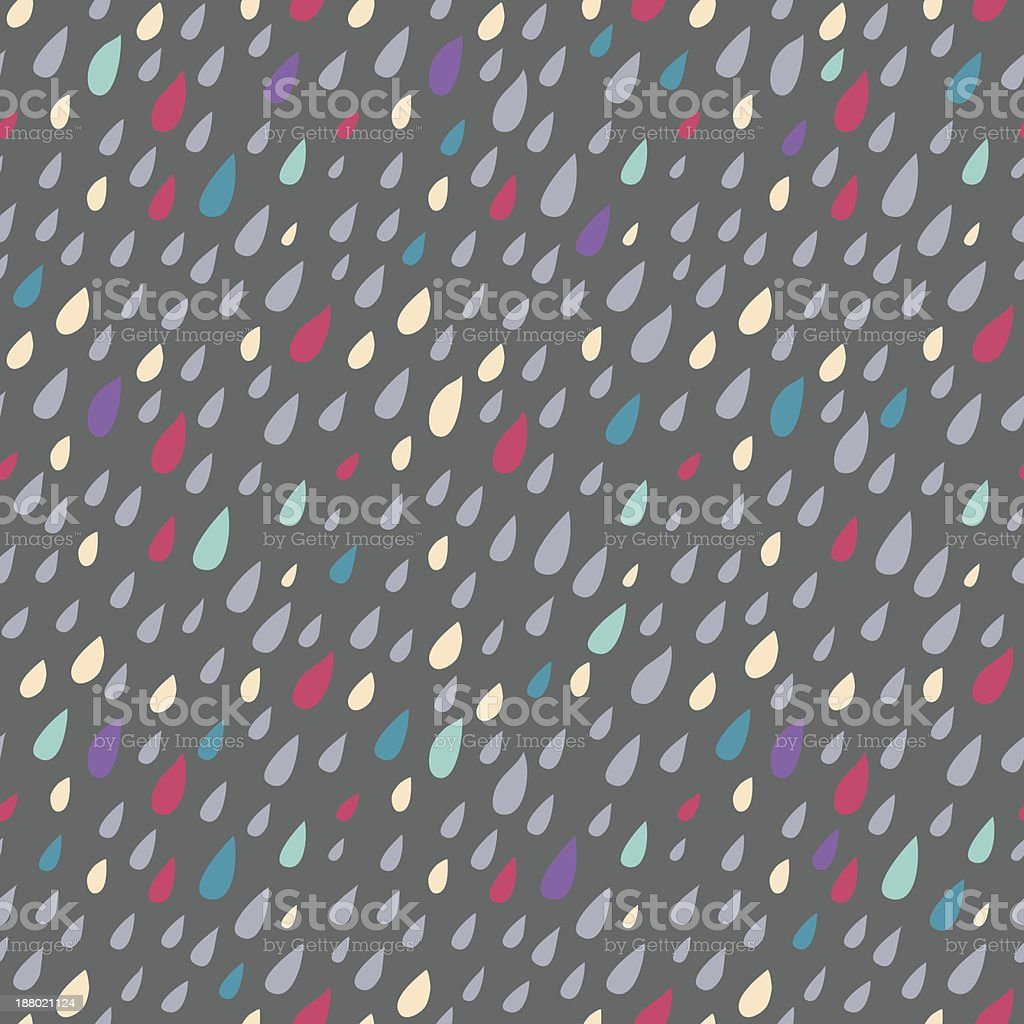 Drops seamless background royalty-free stock vector art