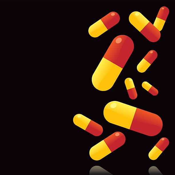 Drug Hintergrund – Vektorgrafik