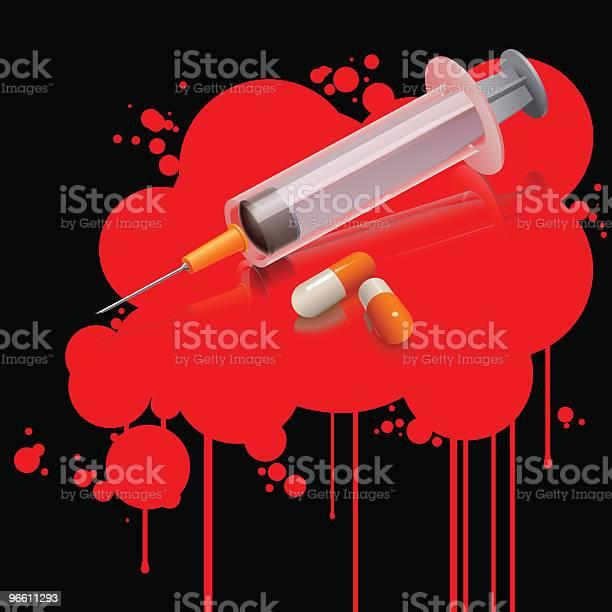 Drug Kills-vektorgrafik och fler bilder på Datorgrafik