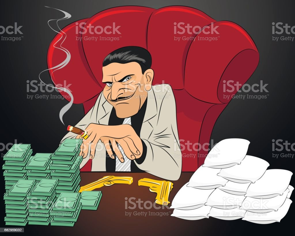 Drug lord in chair royalty-free drug lord in chair stock vector art & more images of addict