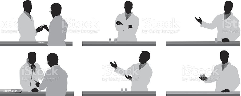 Drug store royalty-free stock vector art