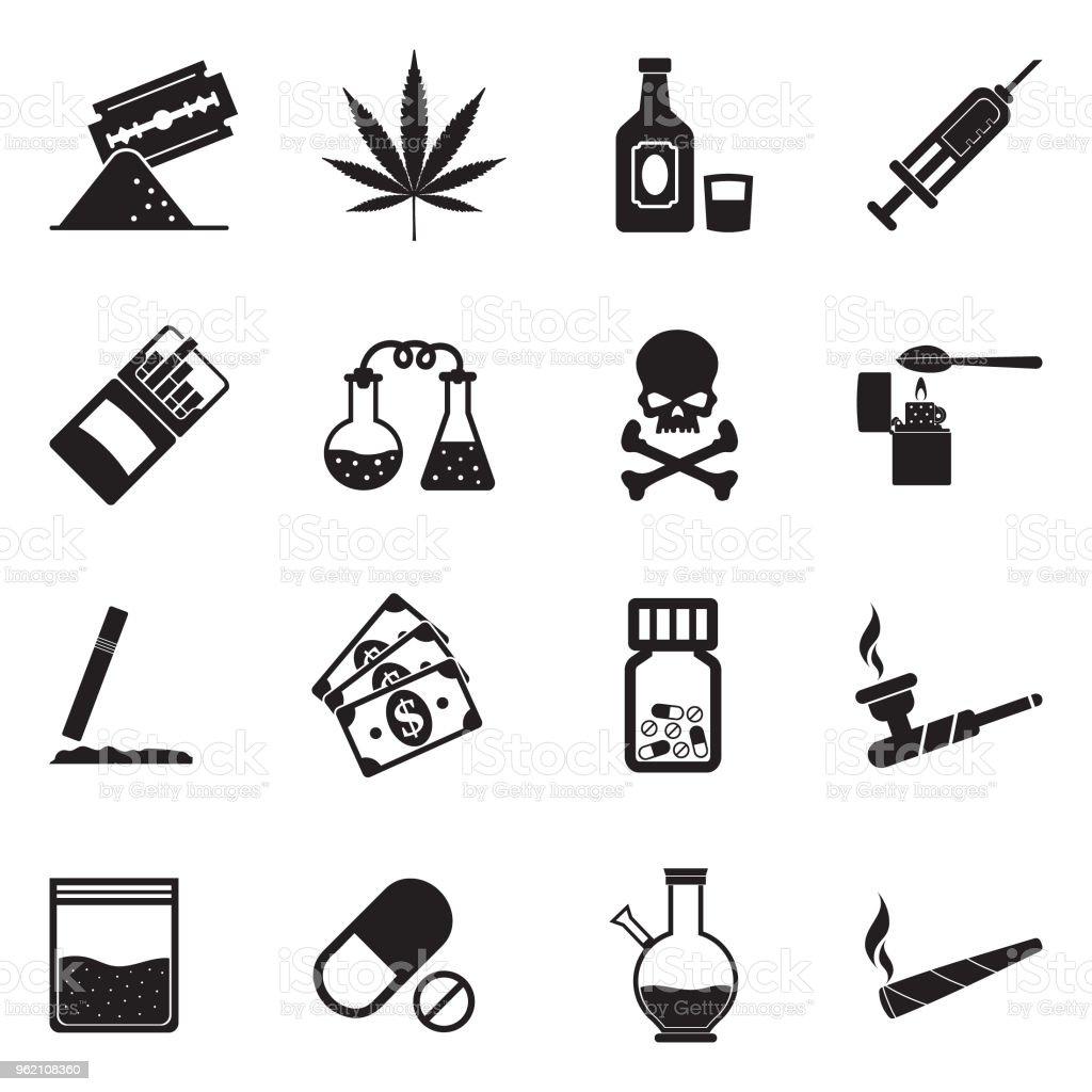 drugs icons black flat design vector illustration stock illustration download image now istock drugs icons black flat design vector illustration stock illustration download image now istock