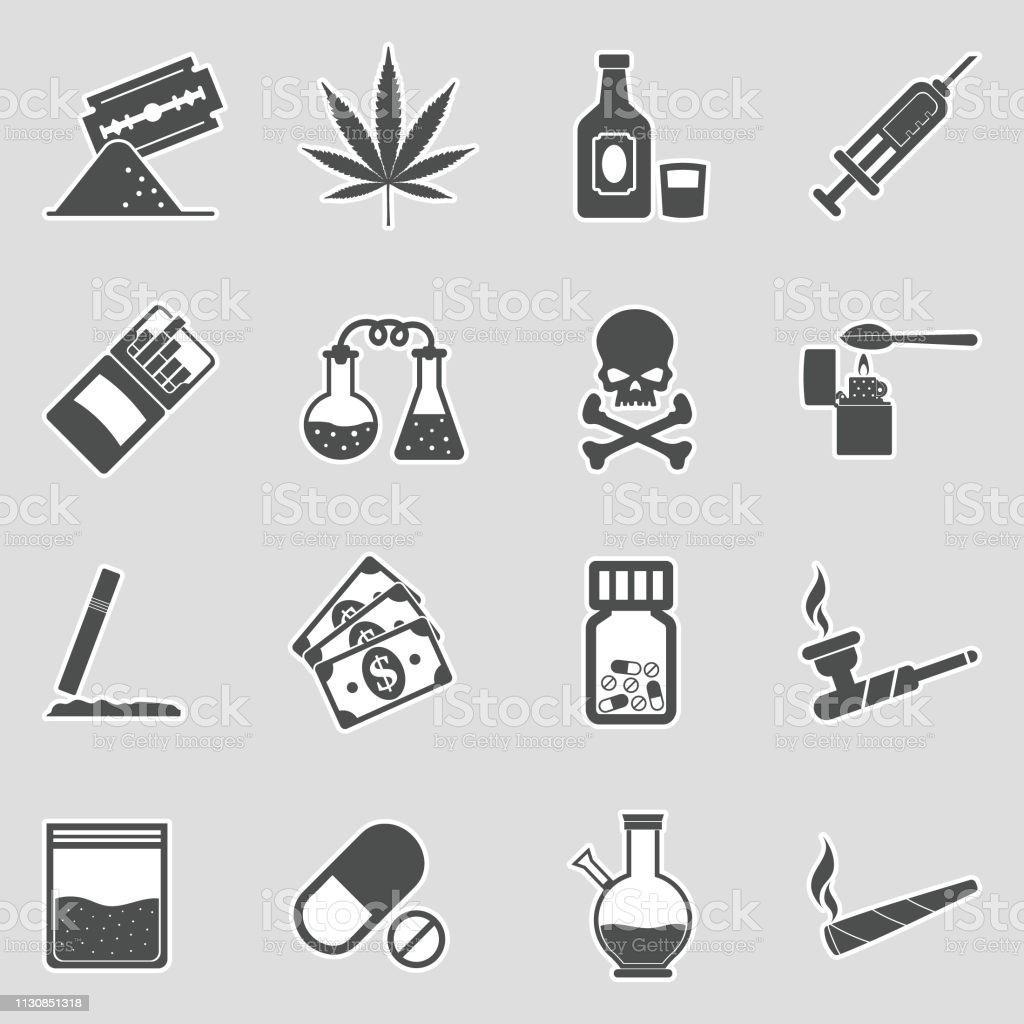 drugs icons sticker design vector illustration stock illustration download image now istock drugs icons sticker design vector illustration stock illustration download image now istock