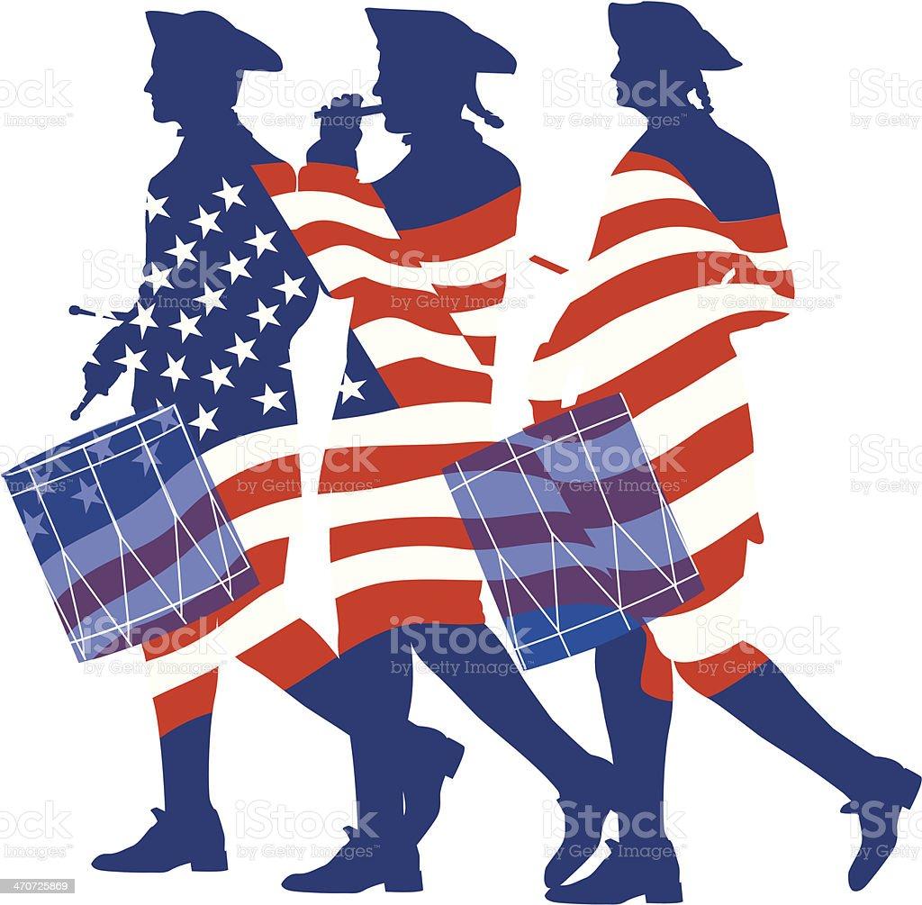 royalty free american revolution clip art vector images rh istockphoto com american revolutionary war clipart american revolution soldier clipart