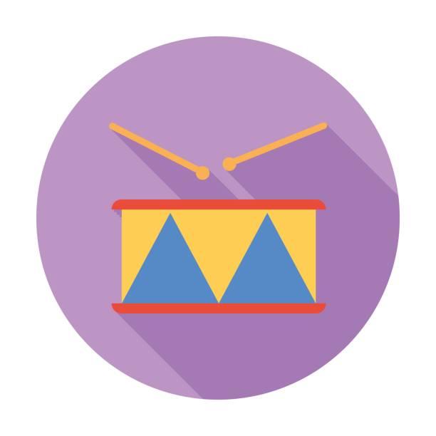 trommel-symbol vektor. - wunderbaum stock-grafiken, -clipart, -cartoons und -symbole