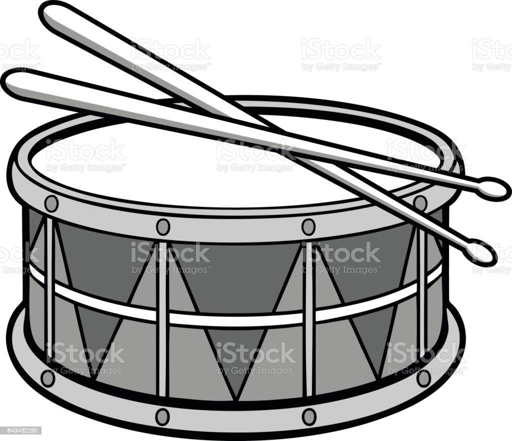 royalty free snare drum clip art vector images illustrations istock rh istockphoto com marching snare drum clipart Snare Drum Silhouette Clip Art
