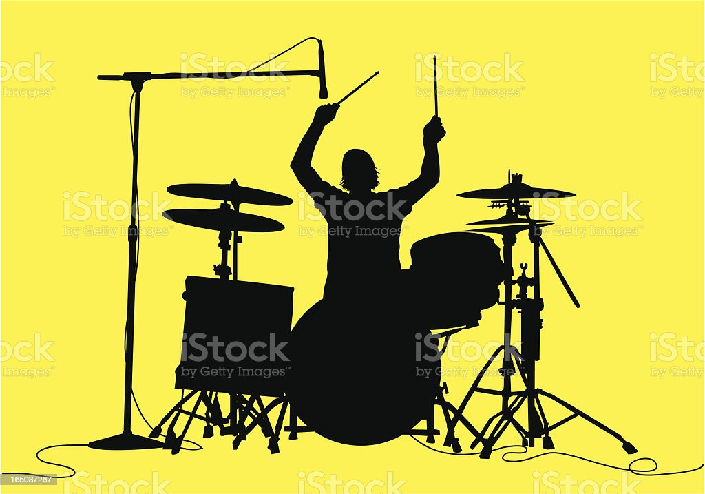 Drum Sessions ( Vector ) royalty-free stock vector art