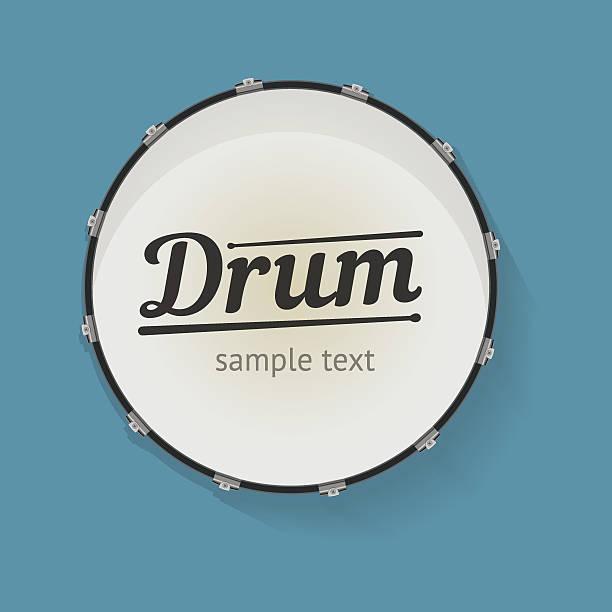 stockillustraties, clipart, cartoons en iconen met drum - drum