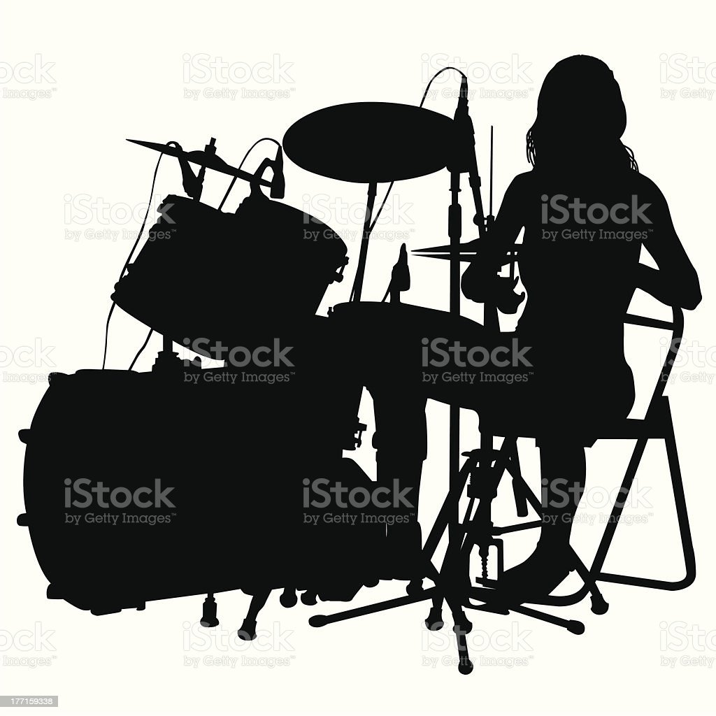 Drummer royalty-free drummer stock vector art & more images of adulation