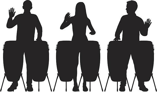 stockillustraties, clipart, cartoons en iconen met drums - slaginstrument