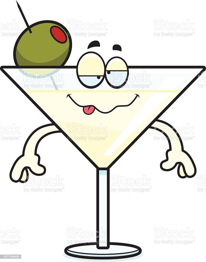 Betrunken Comic Martini Stock Vektor Art und mehr Bilder von ...