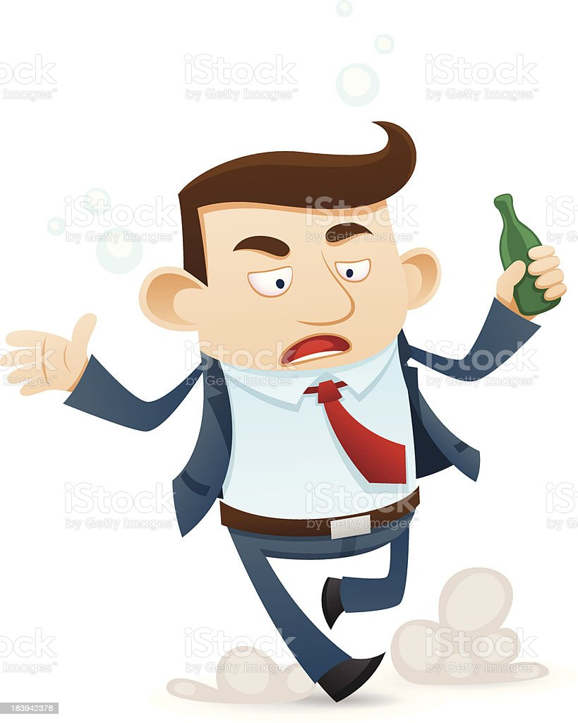 Drunken businessman royalty-free drunken businessman stock vector art & more images of adult