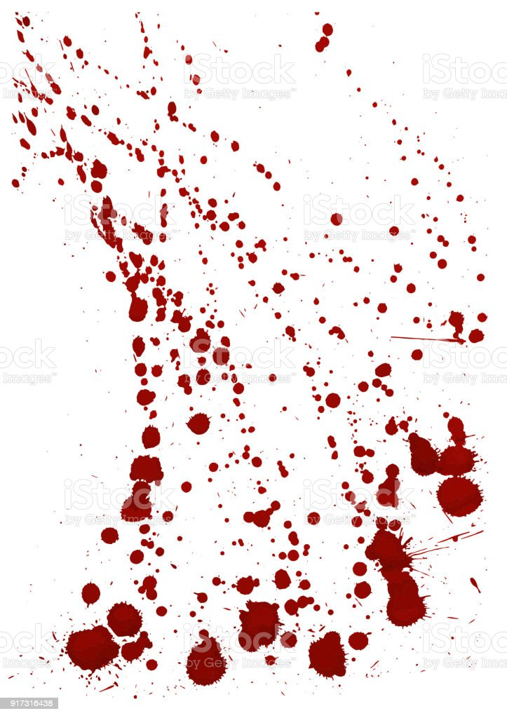 Dry blood splatter. Modern background. Vector illustration. vector art illustration