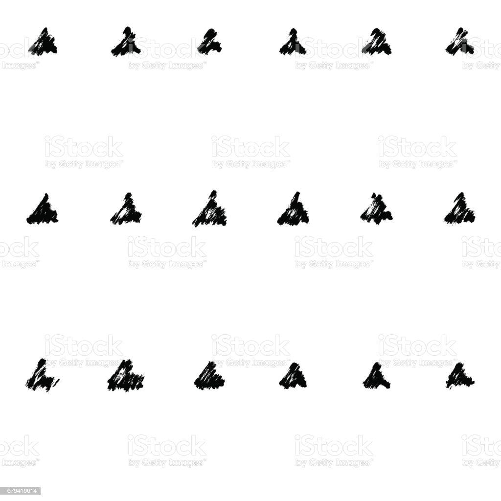 modèle de brosse sèche modèle de brosse sèche – cliparts vectoriels et plus d'images de abstrait libre de droits
