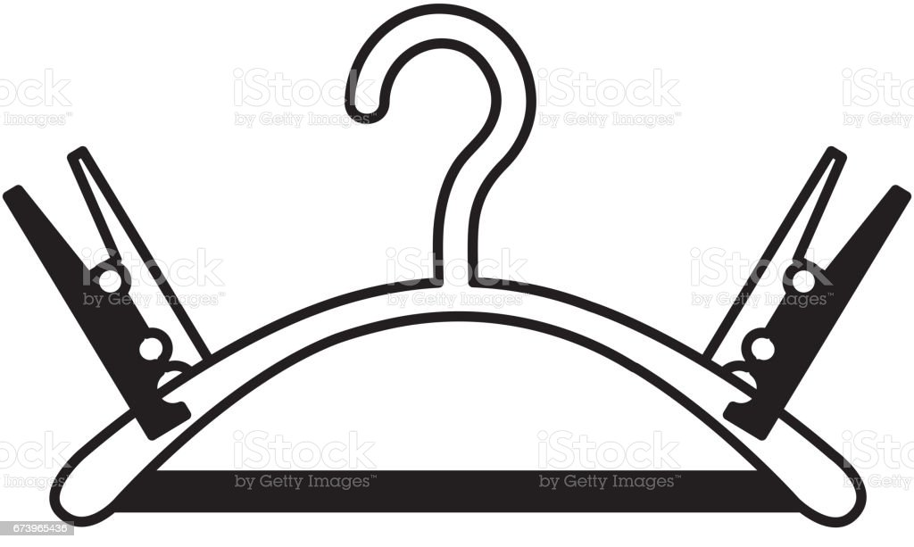 Drying hook laundry icon royalty-free drying hook laundry icon stock vector art & more images of arts culture and entertainment