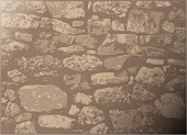 Dry-stone wall background