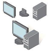 Dsometric Desktop PC computer