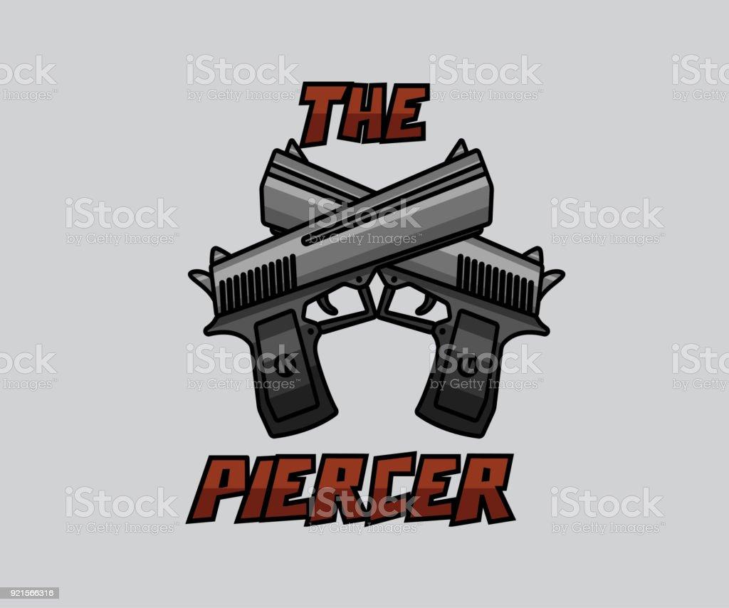 Dual pistol weapon cartoon design stock vector art 921566316 istock dual pistol weapon cartoon design royalty free stock vector art buycottarizona