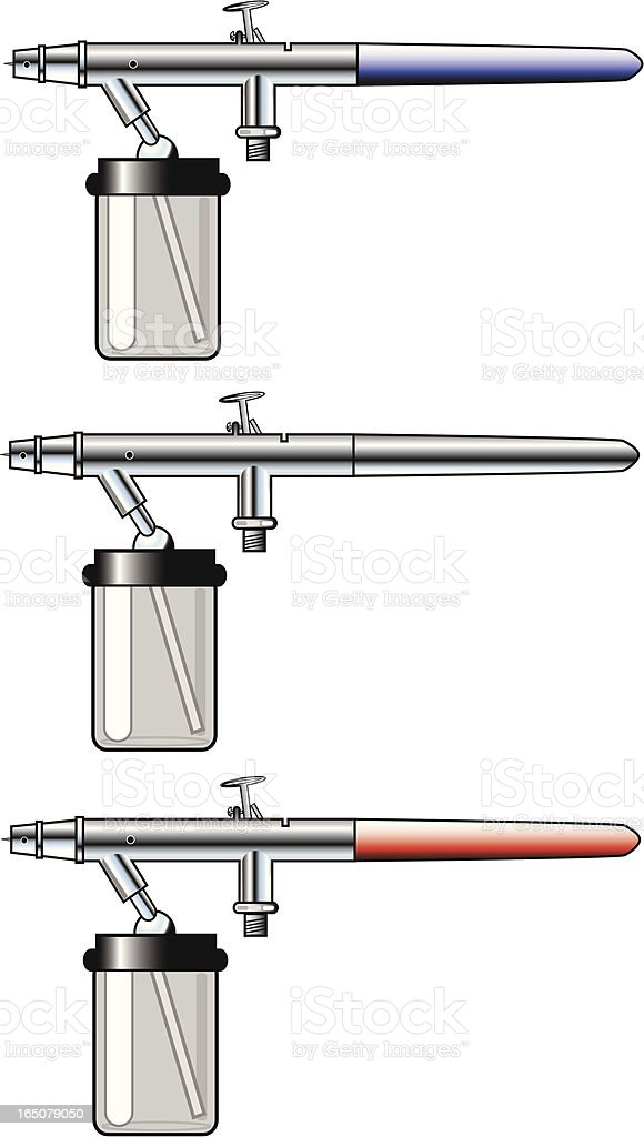 Dual-Action Airbrushes