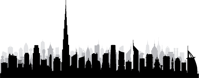 Dubai (All Buildings Are Complete and Moveable)