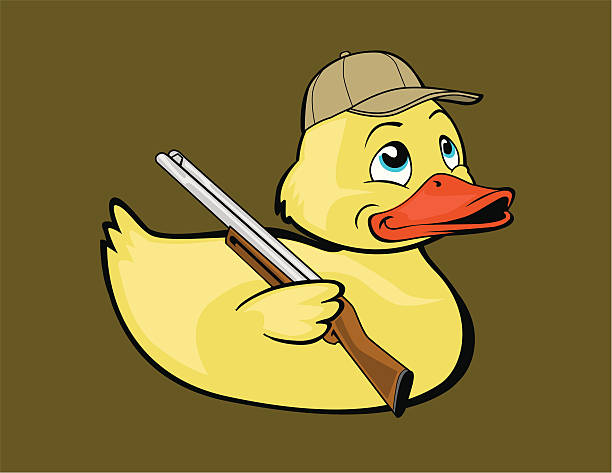 Royalty Free Duck Funny Clip Art, Vector Images & Illustrations - iStock