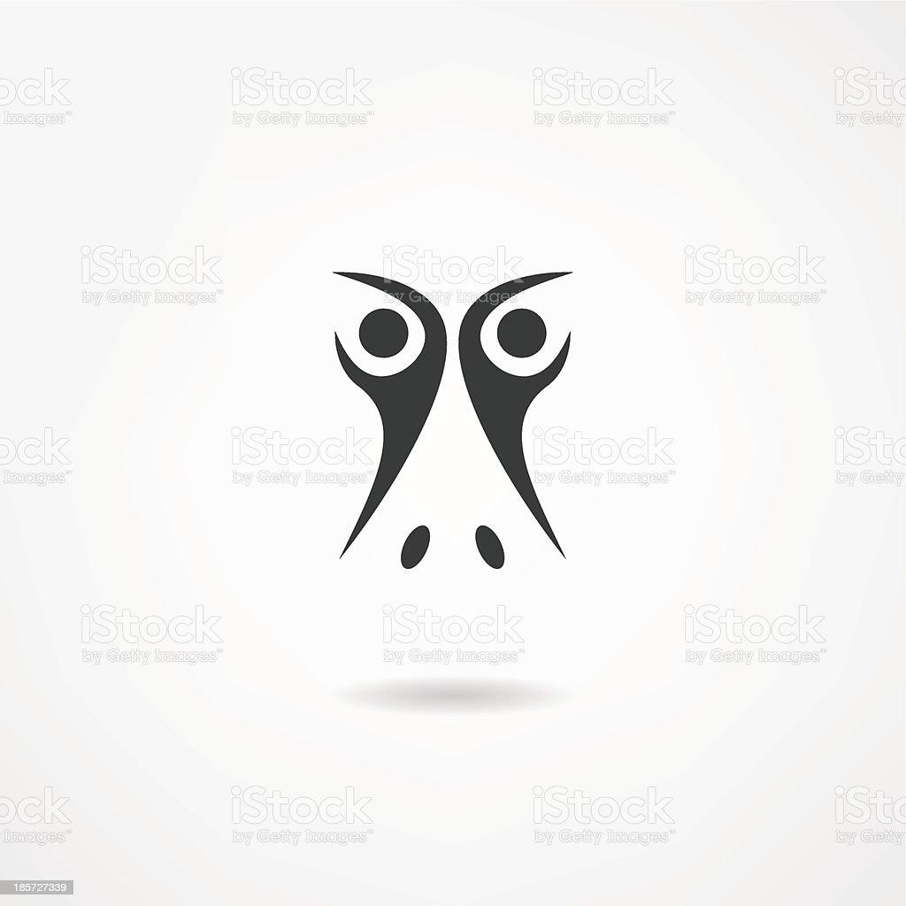 duck icon royalty-free stock vector art