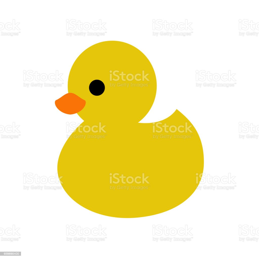 Duck Icon Vector Stock Illustration - Download Image Now