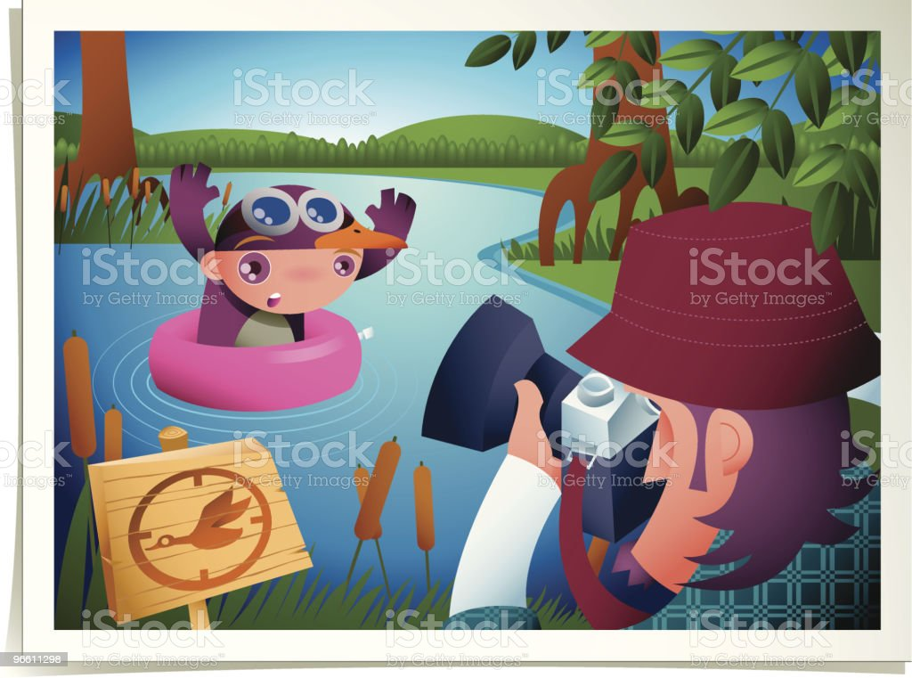 duck shooting season royalty-free stock vector art