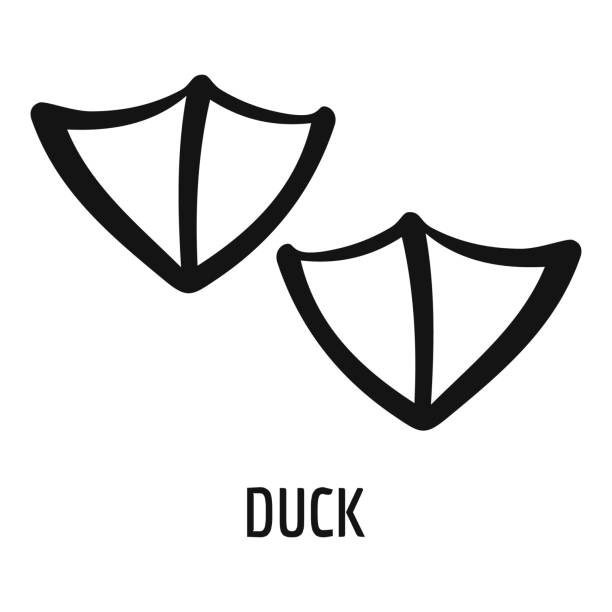duck footprint free vector art 19 free downloads duck footprint free vector art 19 free downloads