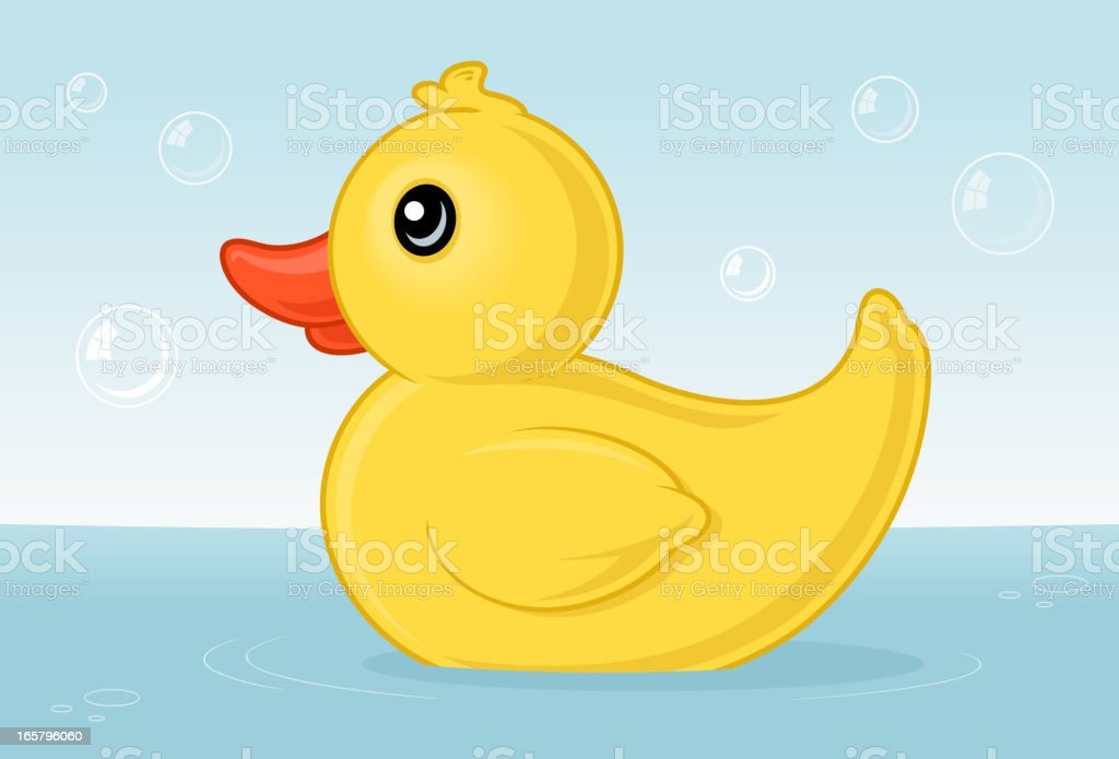 Ducky royalty-free stock vector art