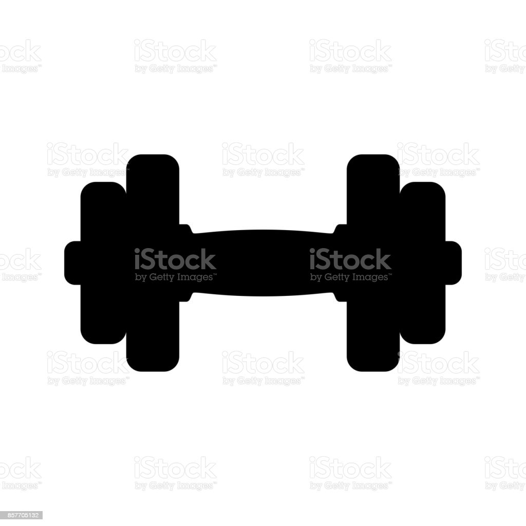 Dumbbell Icon Stock Illustration Download Image Now Istock