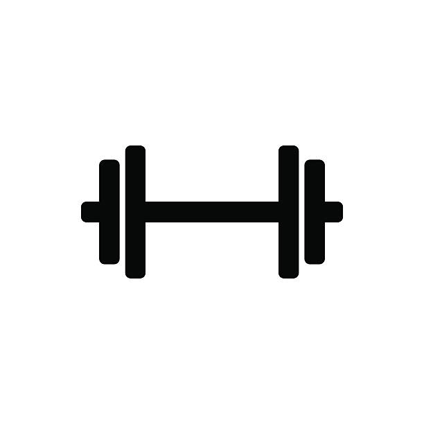 Dumbbell Icon Vector Top 60 Barbell ...