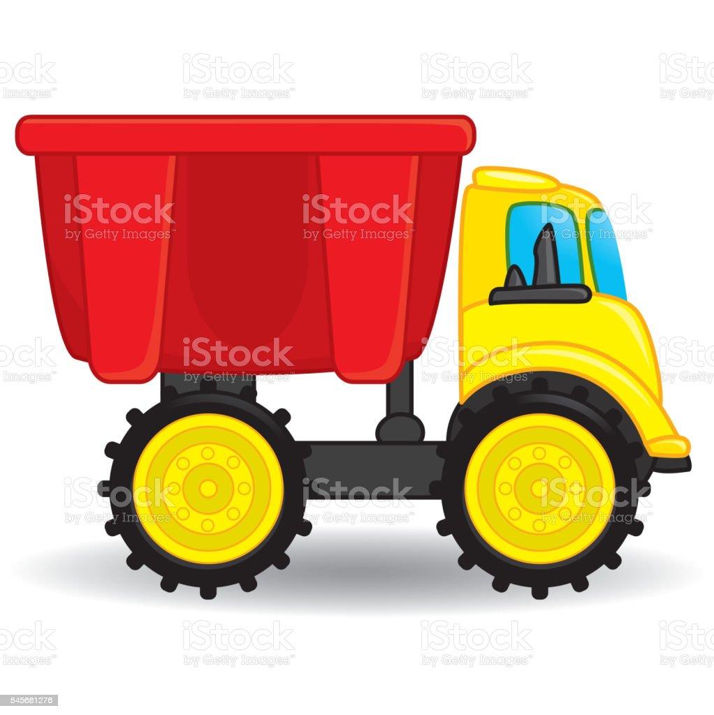 royalty free toy truck clip art vector images illustrations istock rh istockphoto com clip art trucks images png clip art truck unloader