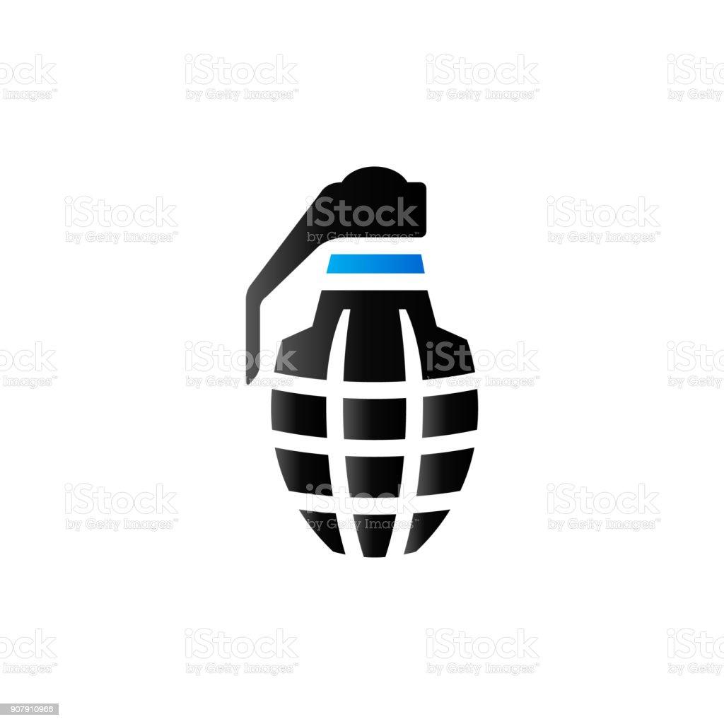 royalty free hand grenade clip art vector images illustrations rh istockphoto com Hand Grenade Bomb Vector