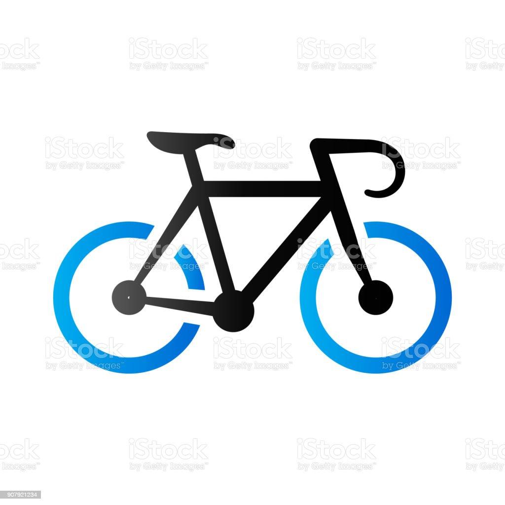 Ilustración de Dúo Tono Icono Bicicleta De Carretera y más banco de ...