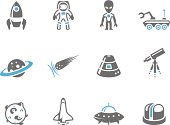 Duo Tone Icons - Space
