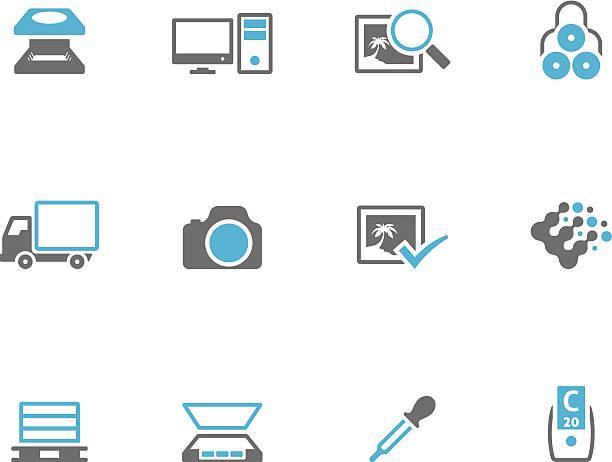 zweifarbige symbole-mehr druck-grafik - korrekturlesen stock-grafiken, -clipart, -cartoons und -symbole